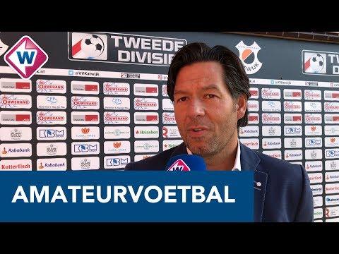 Dogan Corneille tevreden na winst op Katwijk: 'Ik zat echt heel lekker op de bank'