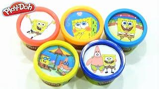 Play Doh Spongebob Squarepants ! Play-Doh Spongebob Patrick Kids Toys