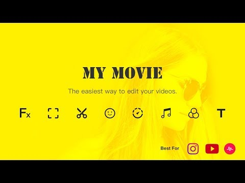 Video editor for youtube music my movie maker apps no google play imagem ccuart Image collections