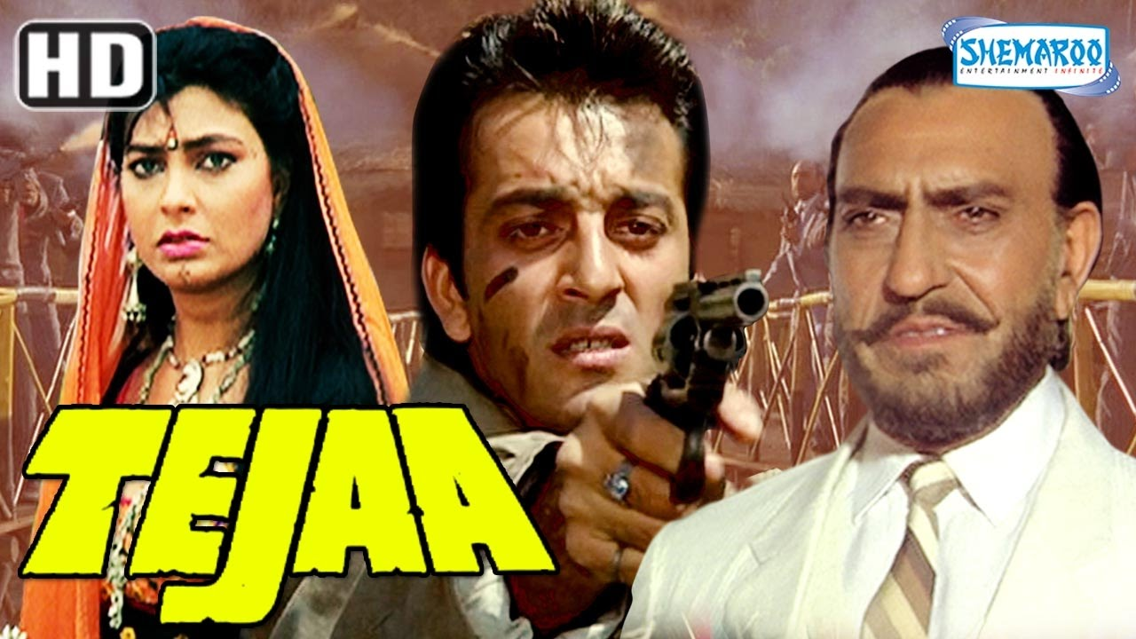 tejaa (hd) - sanjay dutt | kimi katkar - 90's hindi full movie