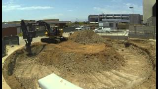 San Diego Miramar College | Thermal Energy Storage Tank Time Lapse