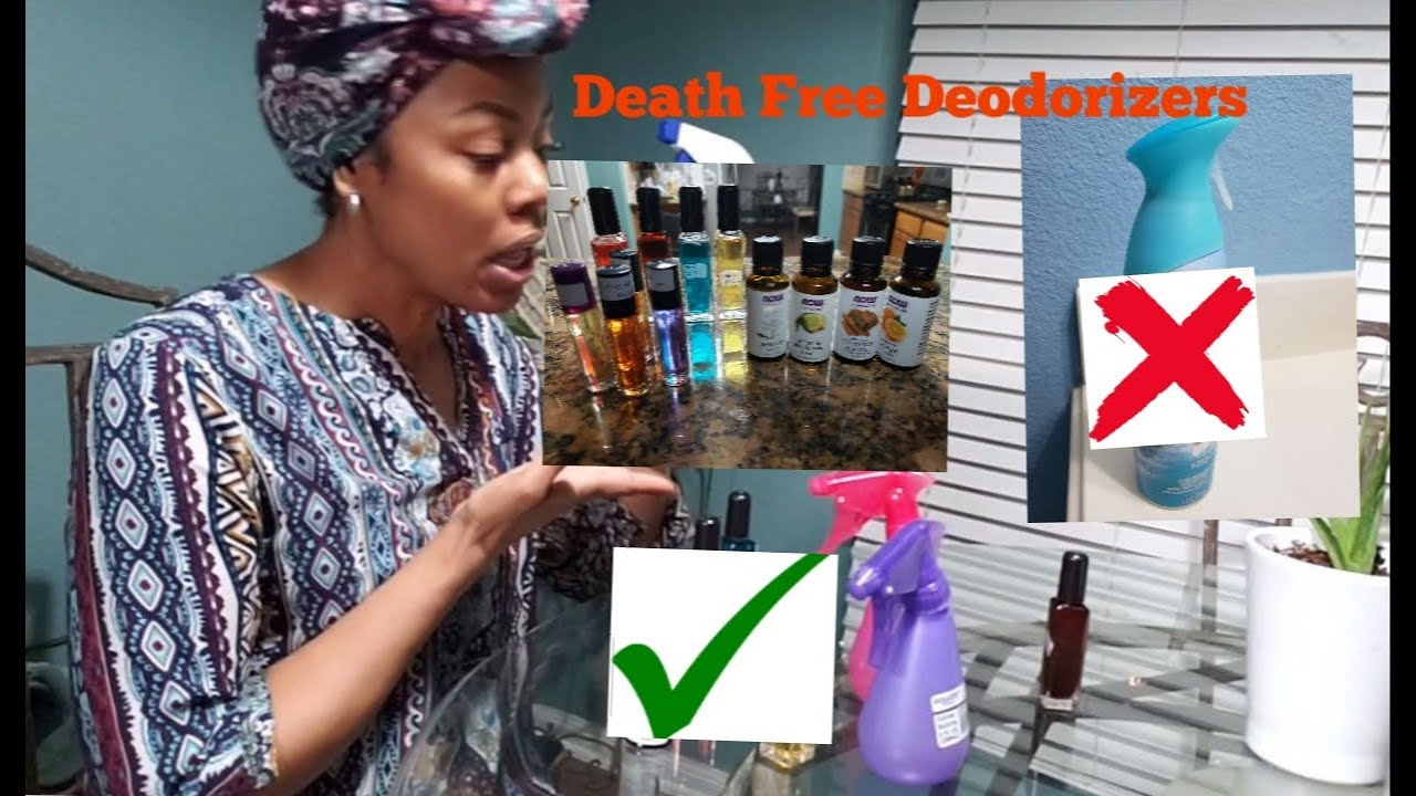 MAKING DEATH FREE DEODORIZERS.  OUT WITH MY DAUGHTER...????