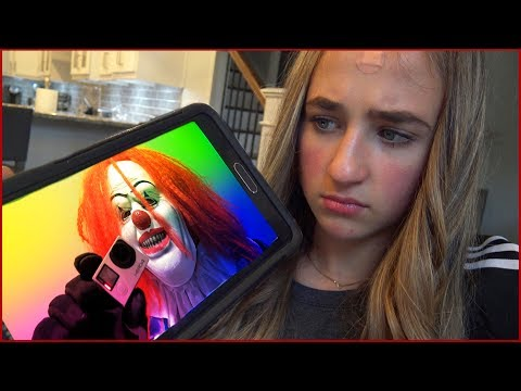 Scary Clown Breaks in our House and Steals Camera Then Sends Videos