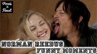 Norman Reedus Funny Moments Crack Humor