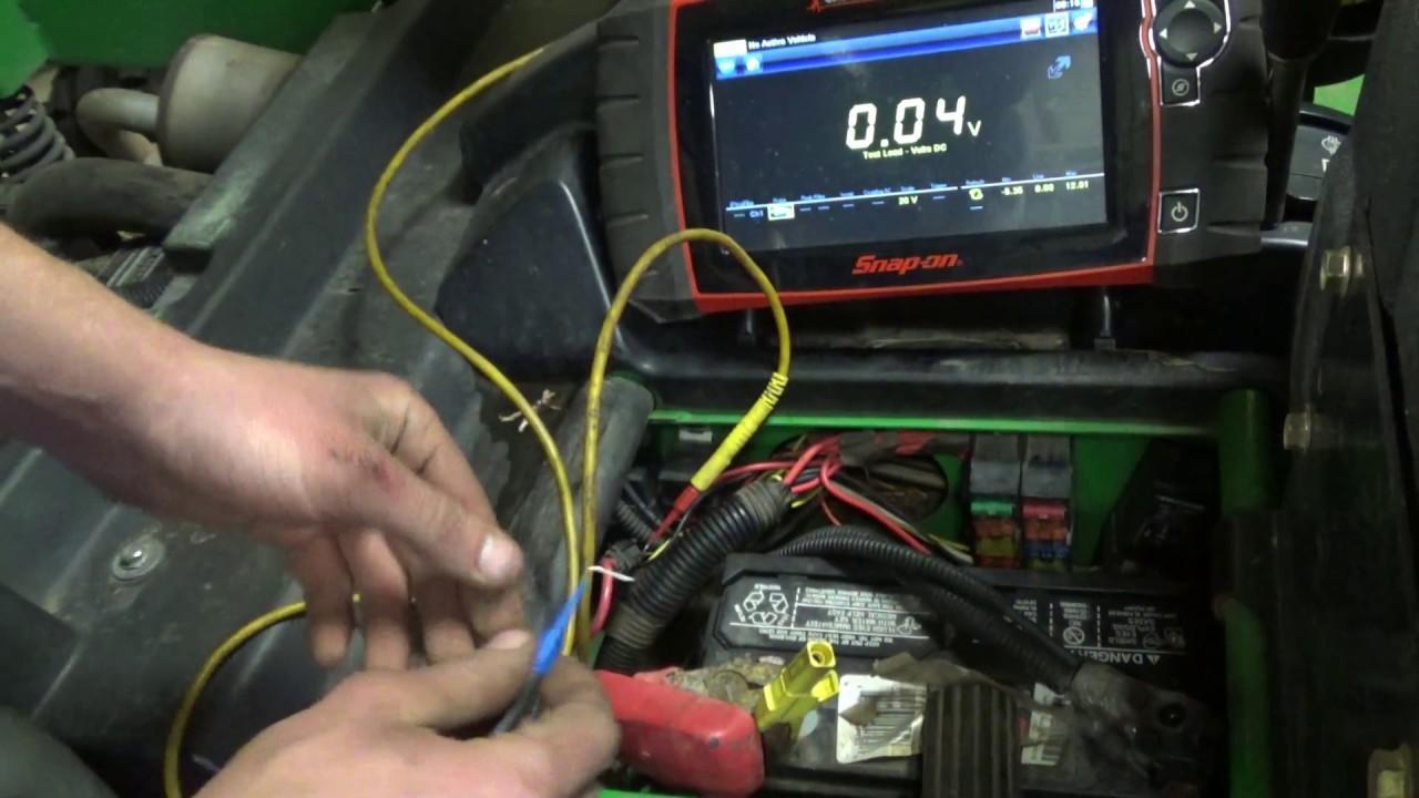 small resolution of john deere hpx 4x4 diesel no crank voltage drop testing