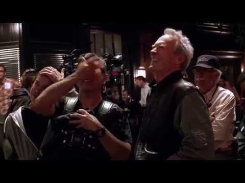 Clint Eastwood on the Set of JERSEY BOYS