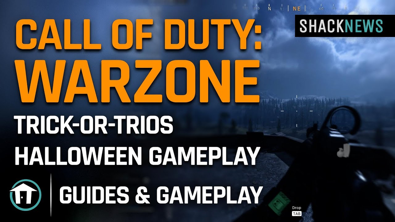 Trick Or Treat Supply Box Locations Warzone Haunting Of Verdansk Shacknews