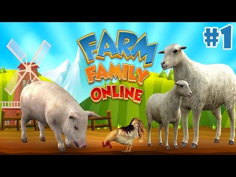 Farm Animal Family: Online Sim By Foxie Games - Android/iOS - Gameplay Episode 1