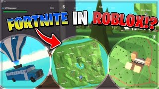I PLAYED FORTNITE ON ROBLOX - IT'S BETTER!? | Roblox: Insel Royale