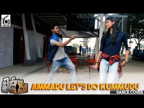 Ammadu let's do Kummudu dance cover by Vicky n Ashmita | KAIDHI NO 150 | BOSS IS BACK