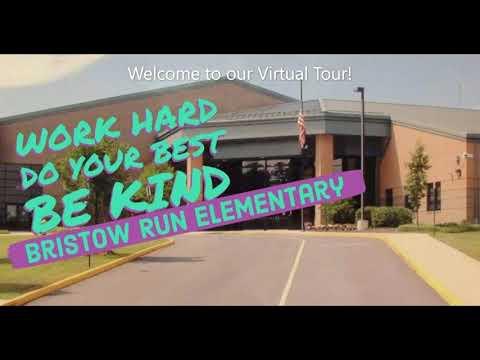 Virtual Tour Of Bristow Run Elementary School for Kindergarten Families