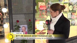 """Ett år sedan Drottninggatan """"Det kommer att bli en tung dag för många"""" - Nyhetsmorgon (TV4)"""