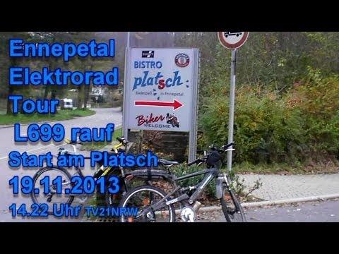 Ennepetal Elektrorad Tour L699 rauf Start am Platsch 19.11.2013 14.22 Uhr TV21NRW
