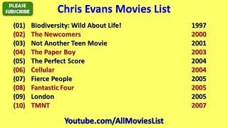 Chris Evans Movies List