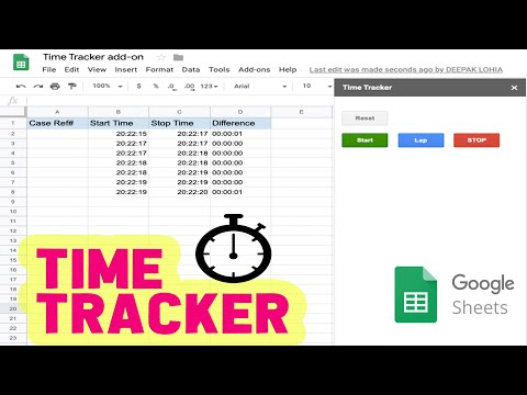 google-sheets-time-tracker-add-on-|-free-timesheet-app