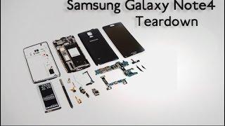 Заповніть Samsung Galaxy примітка 4 демонтаж - вироби керівництво по ремонту