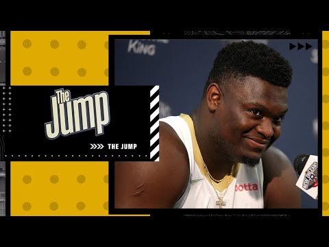 Zion's NOT putting his best foot forward - Windy reacts to Zion's desire to make playoffs | The Jump