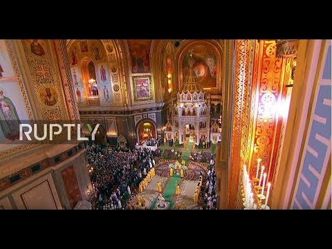 LIVE: Orthodox Christmas mass in Moscow