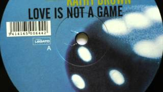 J Majik ft Kathy Brown - Love Is Not A Game (Hydrogen Rockers Vocal)