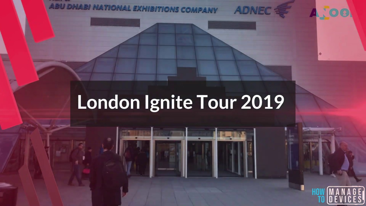 Download Microsoft Ignite Tour London 2019 PPTs for IT Pros