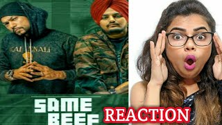 Same Beef Song | Bohemia | Ft. | Sidhu Moose Wala | Byg Byrd | New Punjabi Song 2019 | Reaction