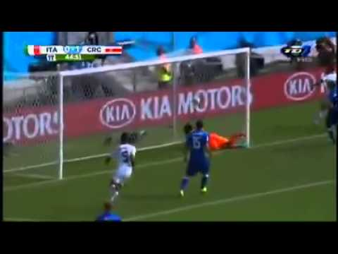 Gol Costa Rica vs italia narracion kristian mora