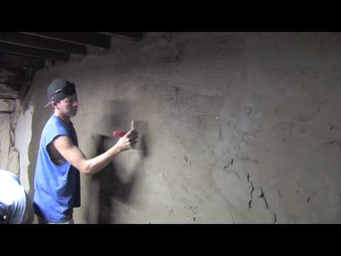 How to cement Cellar Walls and Floor  | Concrete and Cement work Contractor