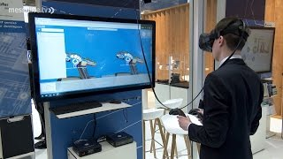 CeBIT 2017: Virtual Reality Trends - VR in Aktion
