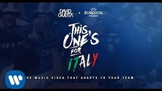 David Guetta ft. Zara Larsson - This One's For You Italy (UEFA EURO 2016™ Official Song)