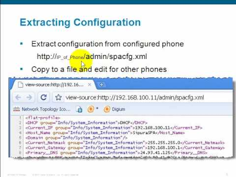 Cisco SPA5xx IP Phone Provisioning Options