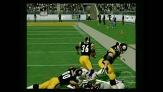 NFL 2K3 PlayStation 2 Gameplay - Bettis runs