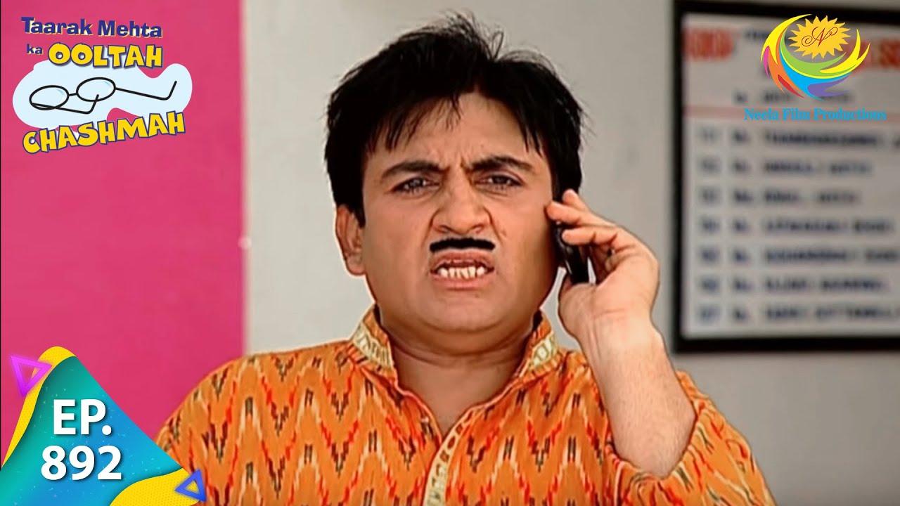 Download Taarak Mehta Ka Ooltah Chashmah - Episode 892 - Full Episode