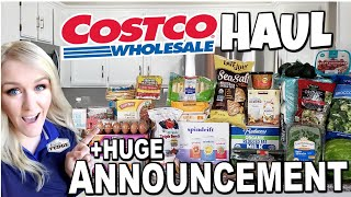 Big Summer Announcement!?! Last Week Of School Costco Grocery Haul