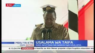 Rais Uhuru awataka polisi kukabiliana na ufisadi