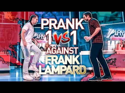 NUTMEG PRANK ON FRANK LAMPARD LIVE TV