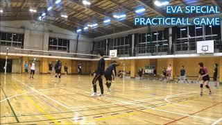 【男女混合バレーボール】SPECIAL 練習試合#3-5 EVA点ゲーム[Commentary]解説 Men and Women Mixed Volleyball JAPAN TOKYO