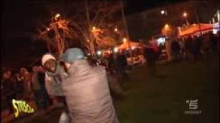 Italien: Krimineller Afromob greift Filmteam an