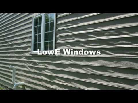 Melted Siding From LowE Windows - YouTube