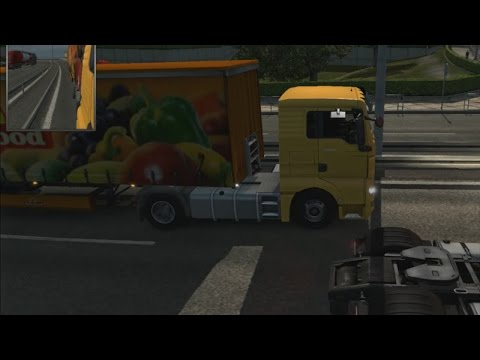 Euro Truck Simulator 2 - Eurotrucks from Sweden to Poland with ferry
