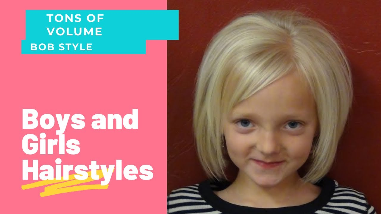 short haircuts for little girls - short hairstyles - youtube