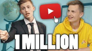 Vous êtes 1 million d'abonnés à la chaîne, pour l'occasion voici ce...
