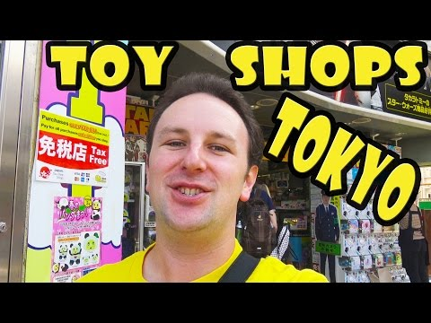 Top 5 Best Toy Stores in Tokyo Japan