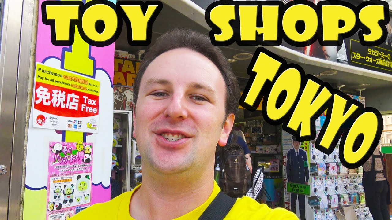 Top 5 Best Toy Stores In Tokyo Japan Youtube