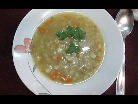 La Sopa de Avena que Adelgaza en 1 Semana / Oats Soup Recipe for weight Loss