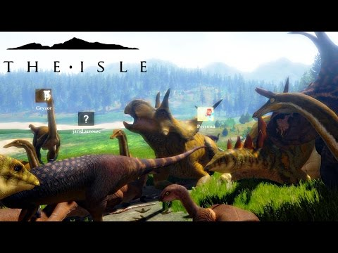 The Isle - REX & ACRO AMBUSH, DIABLO PROGRESSION & BIGGEST HERD EVER ( Early Access Gameplay )