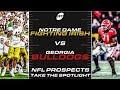 NFL Prospects Take The Spotlight: Notre Dame vs. Georgia Game Preview | PFF