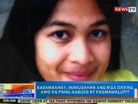 NTG: Kasambahay, inakusahan ang mga dating amo ng pang-aabuso at pagmamalupit