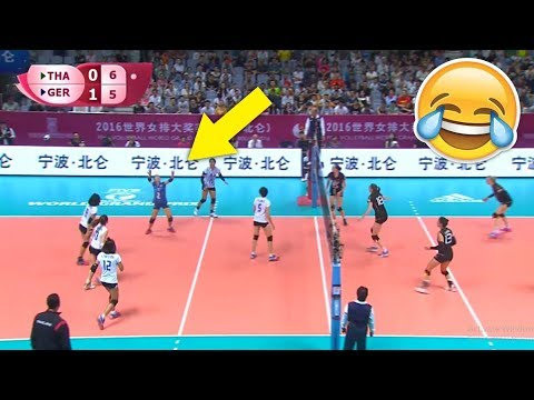Who Says Libero Can't Spike !? Funny Volleyball Videos (HD)