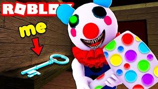 TROLLING Players As EVIL PIGGY CLOWN In ROBLOX!