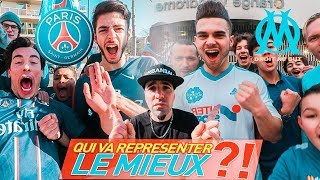 SUPPORTERS PSG VS SUPPORTERS OM ! CLASSICO